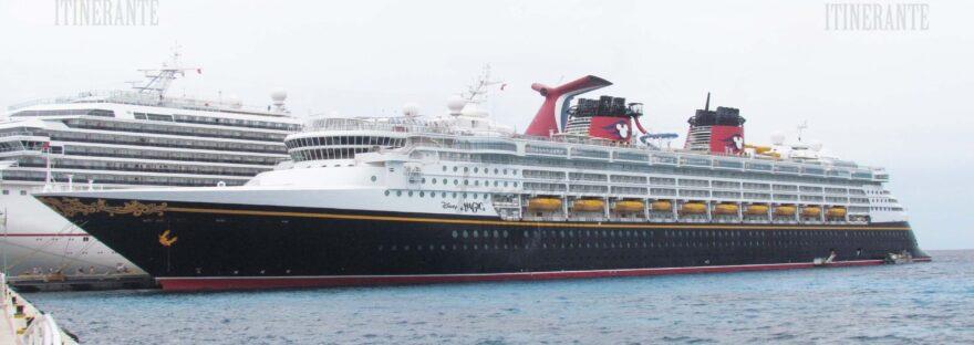 Família Itinerante - Disney Cruise Line - Disney Magic