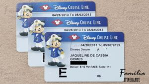 Família Itinerante - Disney Cruise Line - Key to the World - Dream